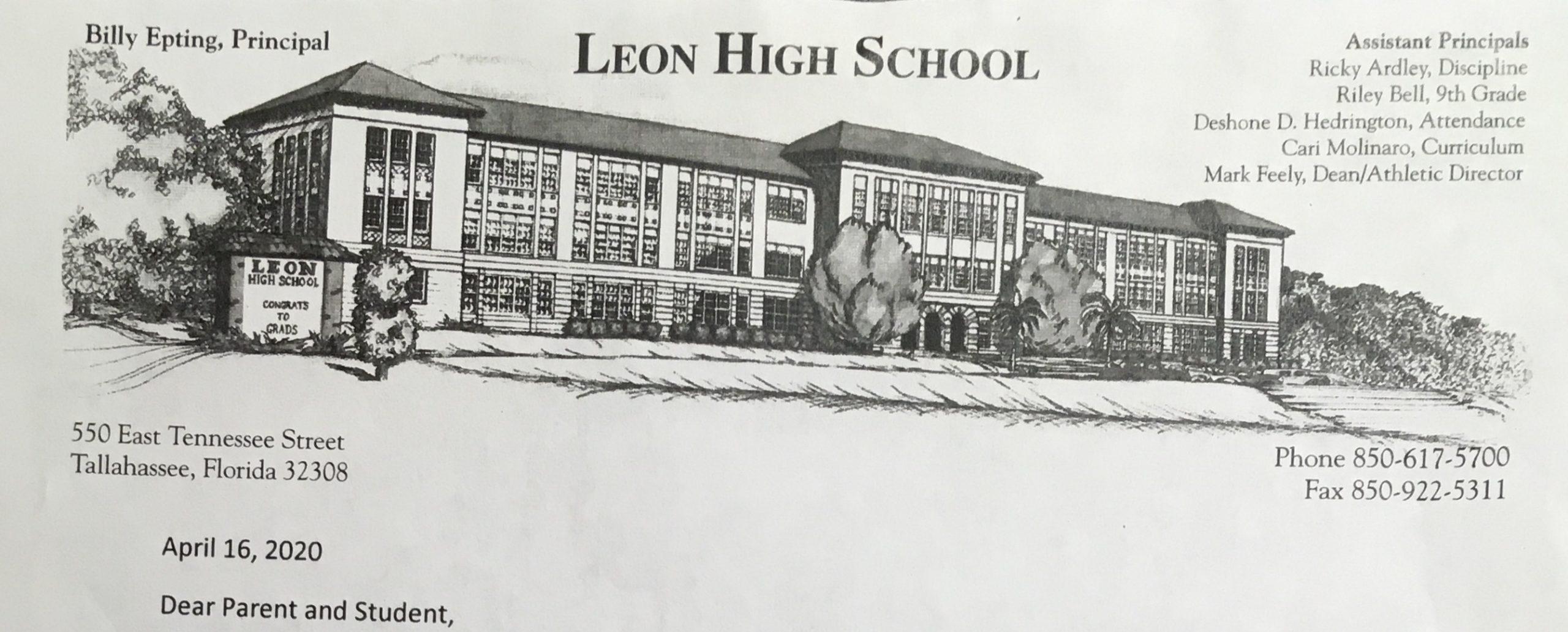 Leon High School Masthead