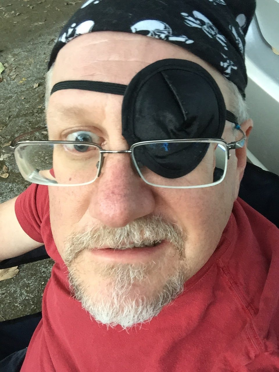 Me dressed as a pirate